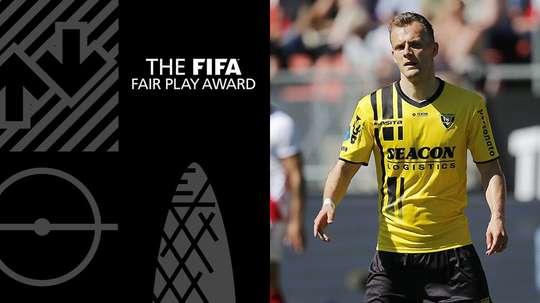 Le Hollandais a aidé à sauver une vie. FIFA