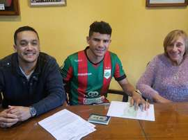Los 'ramplenses' han llegado a un acuerdo con el delantero Léo Bahia. RamplaJrsOficial
