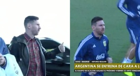 Messi est au rassemblement de l'Albiceleste. Argentine/TNT