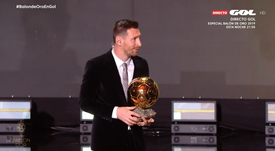 The Ballon d'Or will be given out. Screenshot/GOL