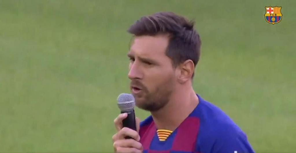 Messi annonce la couleur pour cette nouvelle saison — Barcelone