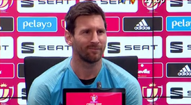 Messi was puzzled by claims he wanted to leave Barca. Captura/GOL