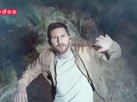 Messi starred in an advert. Twitter/OoredooQatar