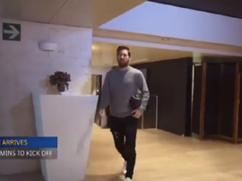 La routine de Messi avant une rencontre. Capture/FCBarcelone