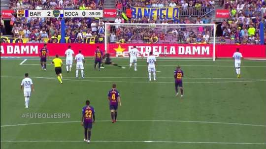 Messi scored in the 39th minute. Twitter/FCBarcelona