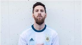 Estará Messi já a pensar no futuro ao questionar Martínez sobre a MLS. EFE