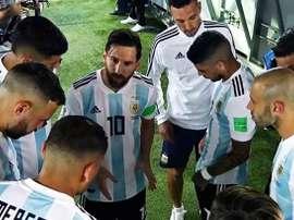 Le discours de Messi. Capture/Twitter