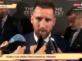 Messi a analysé la situation du FC Barcelone. Capture/GOL