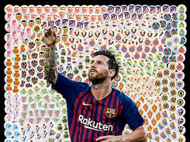 Leo Messi marcou 400 golos na LaLiga. BeSoccer