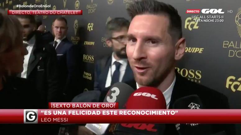 Messi cambiaría lo individual por algún trofeo más en lo colectivo. Captura/Gol