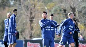 Tagliafico habló de Messi y la previa del Argentina-Colombia. Argentina