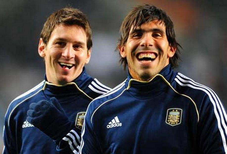 Messi mucho más natural para Tévez que Cristiano. EFE