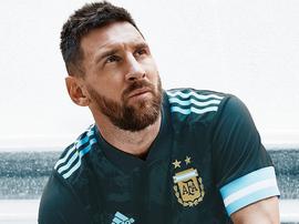 Argentina estreia novo uniforme contra o Brasil. Adidas