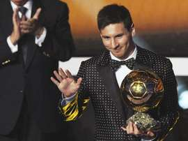 Messi's campaign had been deemed enough for him to win it again this yeatr. EFE