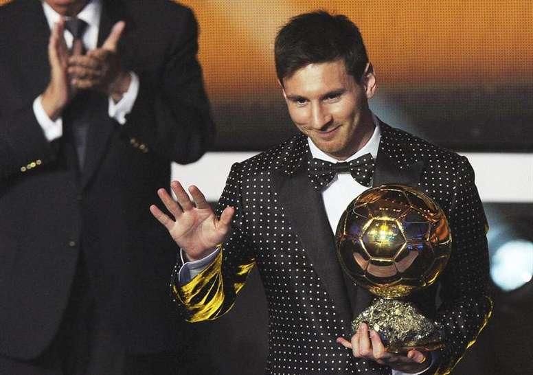 Messi et Van Dijk sont les favoris. EFE