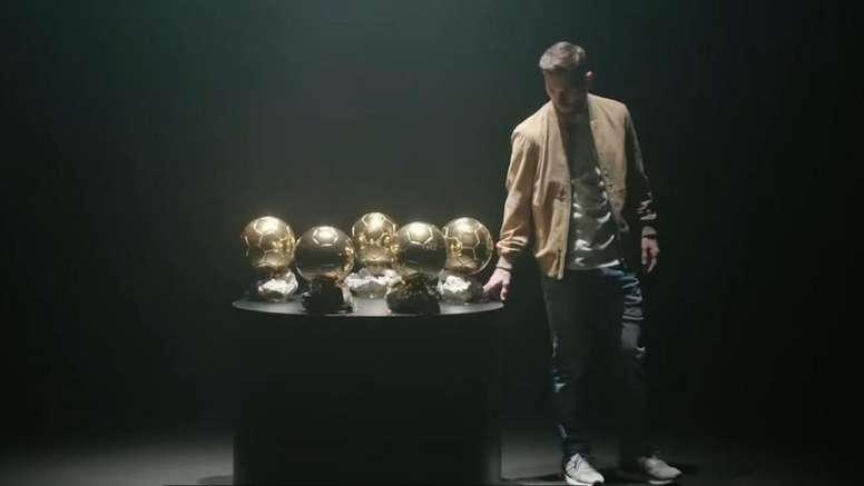 Leo Messi a parlé de ses Ballons d'Ors. OTRO