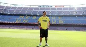 Leo Messi manifestou sua saudade de atuar no palco do Barcelona. Instagram/LeoMessi
