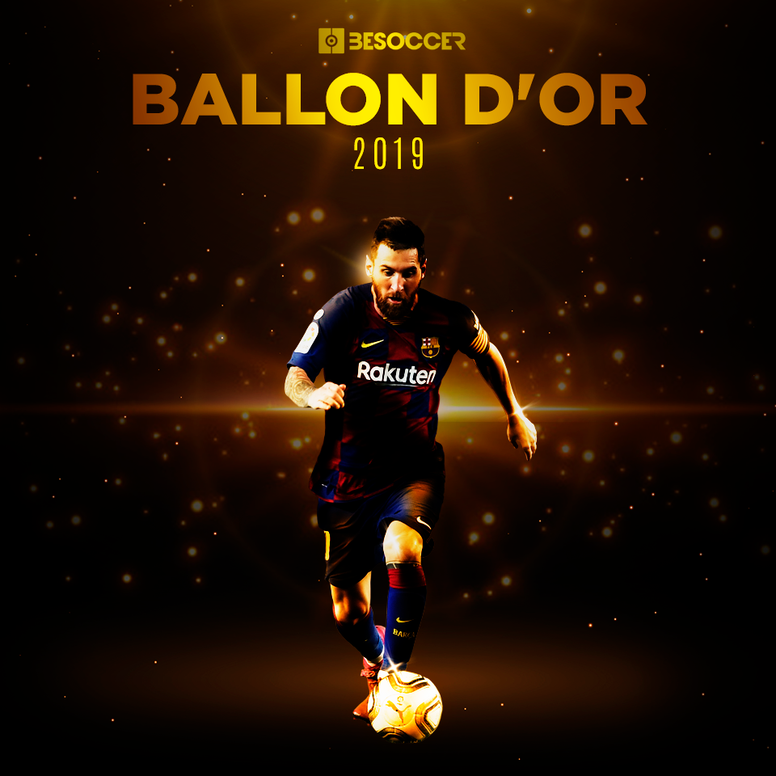 Leo Messi est le Ballon d'Or 2019. EFE