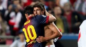 Aimar elogia Messi. LosAndes
