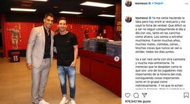Messi criticou publicamente o modo como o Barcelona encaminhou a saída de Suárez. Instagram/leomessi