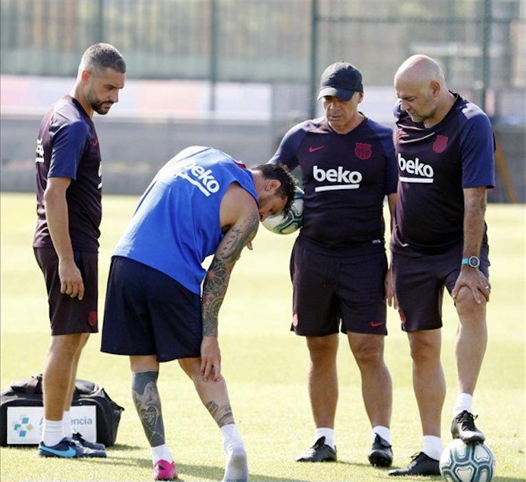 Valverde deslizó la ausencia de Messi en San Mamés. FCBarcelona