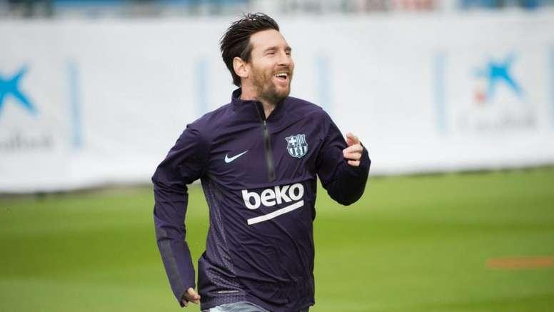 Messi est l'arme fatale. FCBarcelone