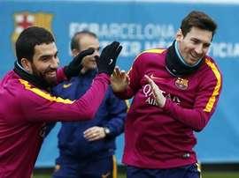 Turan revient sur ses années au Barça. afp