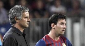 Mourinho a des doutes avec le Ballon d'Or. EFE/Archivo