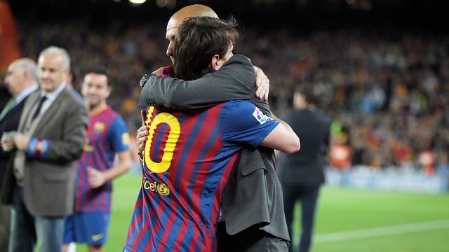 Multimillonario quiere juntar a Lionel Messi y Pep Guardiola en AC Milan