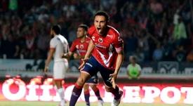 Leobardo López defenderá la camiseta de Necaxa. ClubTiburonesRojos