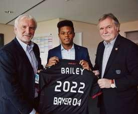 Leon Bailey ha sido el jugador en el que más dinero se ha invertido con 13'5 'kilos'. Bayer04