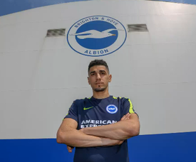 Balogun became Brighton's first signing of the summer. Twitter/BrightonFC