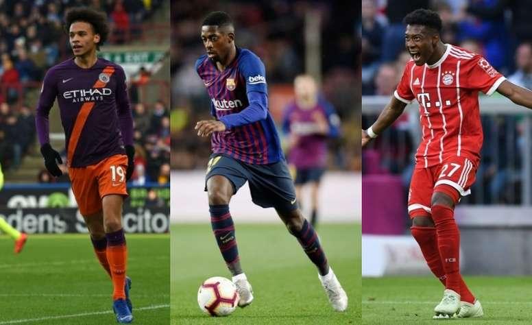 Alaba fue ofrecido al Barcelona y al Manchester City. AFP