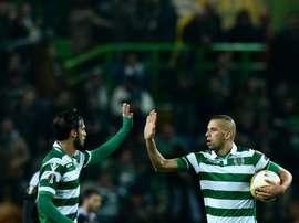 Sporting CP sobe à terceira posição. EFE/EPA