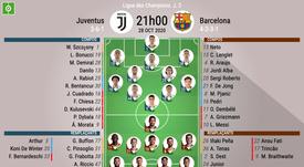 Le match entre la Juventus et le FC Barcelone. besoccer