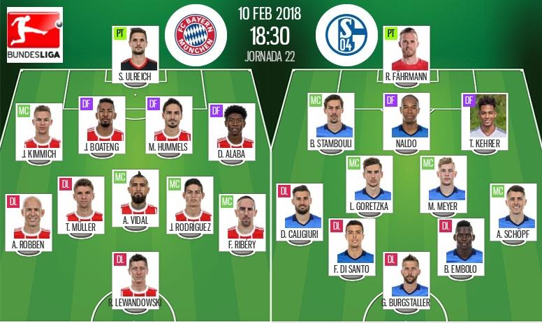 Le Bayern poursuit sa série face à Schalke — Bundesliga