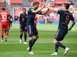 Il Bayern stende il Leverkusen. Twitter/FCBayern