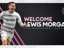 Lewis Morgan signe à l'Inter Miami. InterMiami
