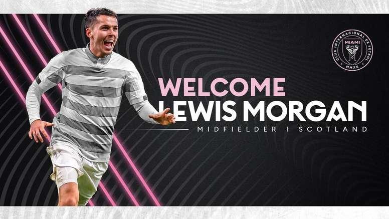 He has signed for Inter Miami. InterMiami