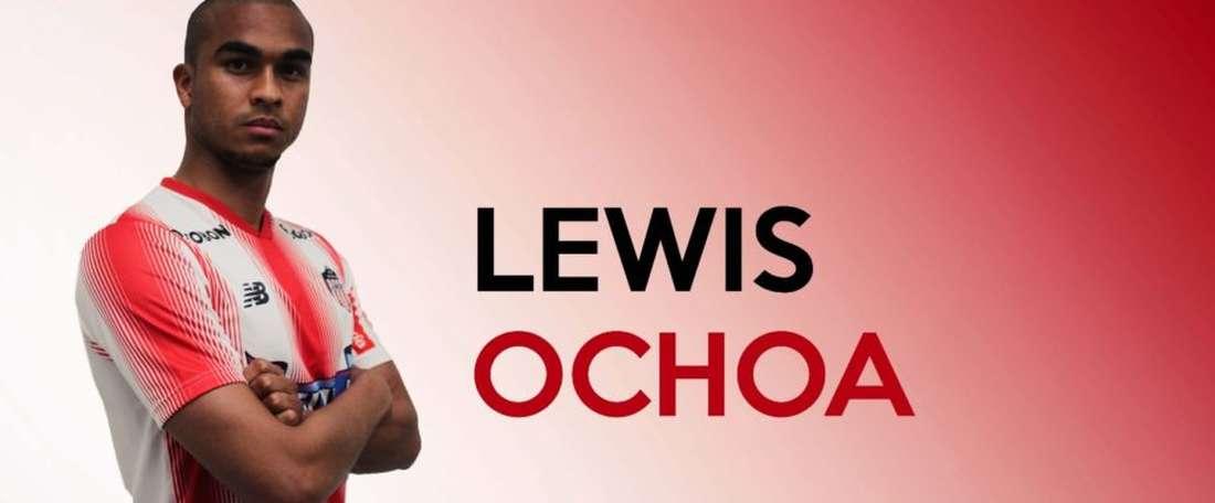 Lewis Ochoa ha firmado con Junior de Barranquilla. JuniorFC