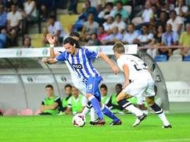 Licá, durante un partido con el Oporto. PortoFC
