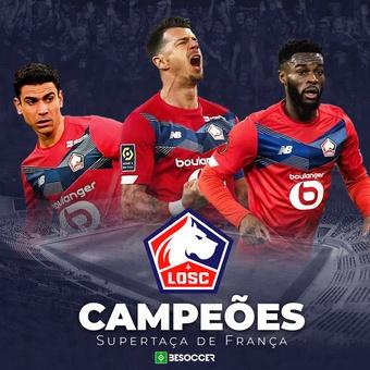 Lille vence a Supertaça de França.BeSoccer