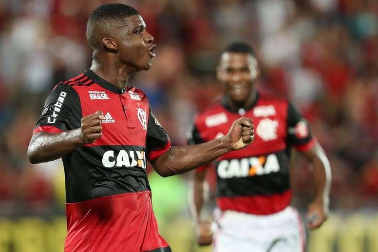 Lincoln está na mira da Inter de Milão. Twitter/Flamengo_es