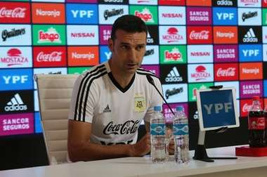 Scaloni confirms Messi will start. Argentina