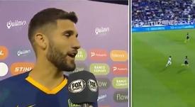 Lisandro criticó el juego de Vélez. Captura/FOXSports