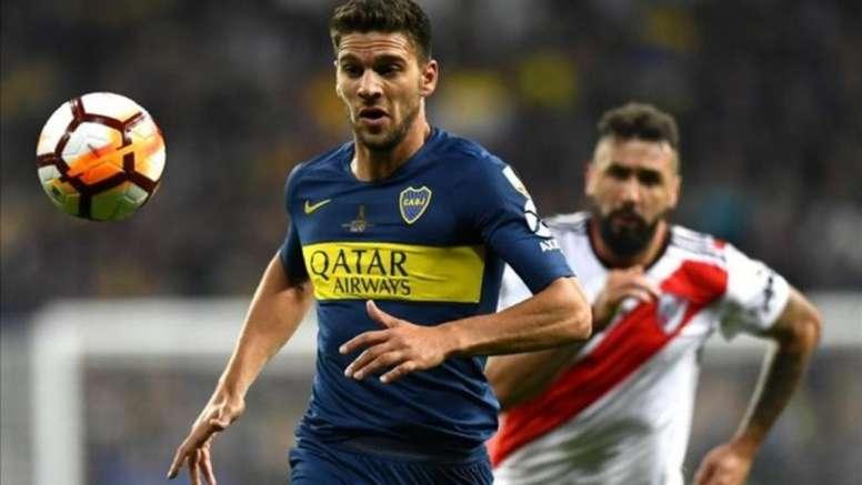 Magallán repasó la final ante River y su Champions con el Ajax. AFP