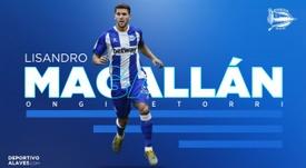 Lisandro Magallán llega cedido al Alavés. Deportivo Alavés