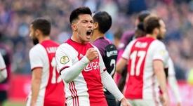 O Ajax passou do sufoco ao alívio. AFCAjax