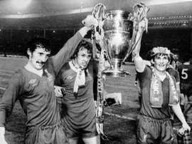 Liverpool a été le premier club anglais avec un joueur 'cafetero'. AFP