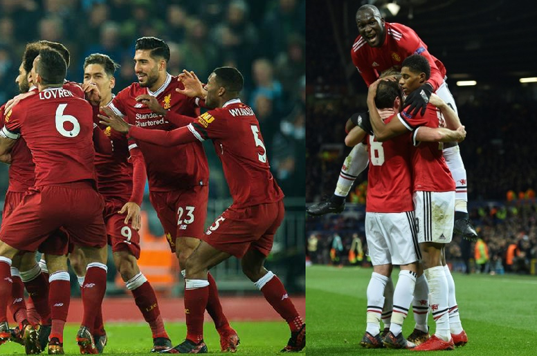 Liverpool and United will battle it out on Saturday. BeSoccer